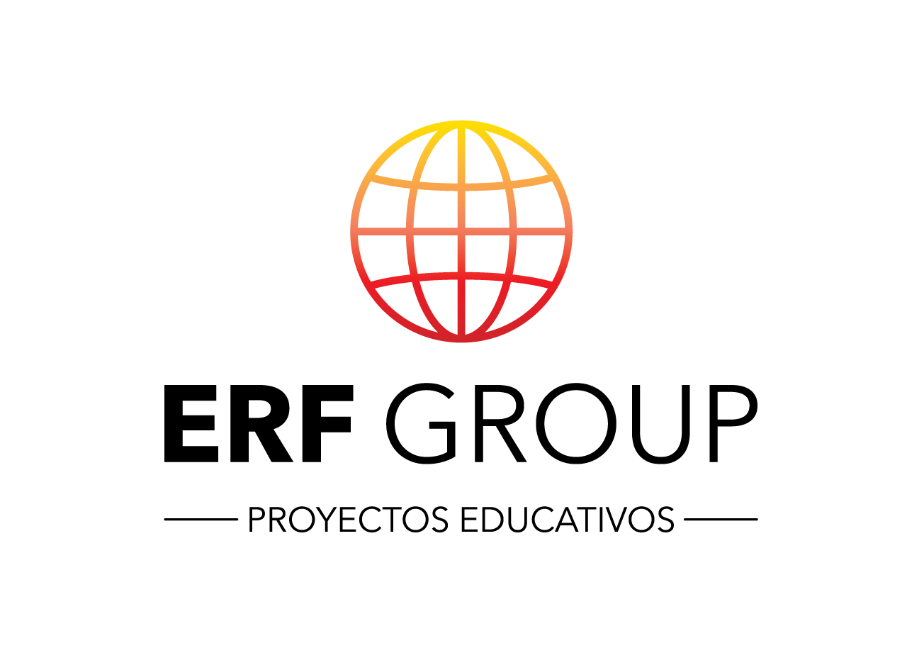 logo erf group proyectos educativos, desarrollo personal, emprendimiento, educacion financiera png transparente